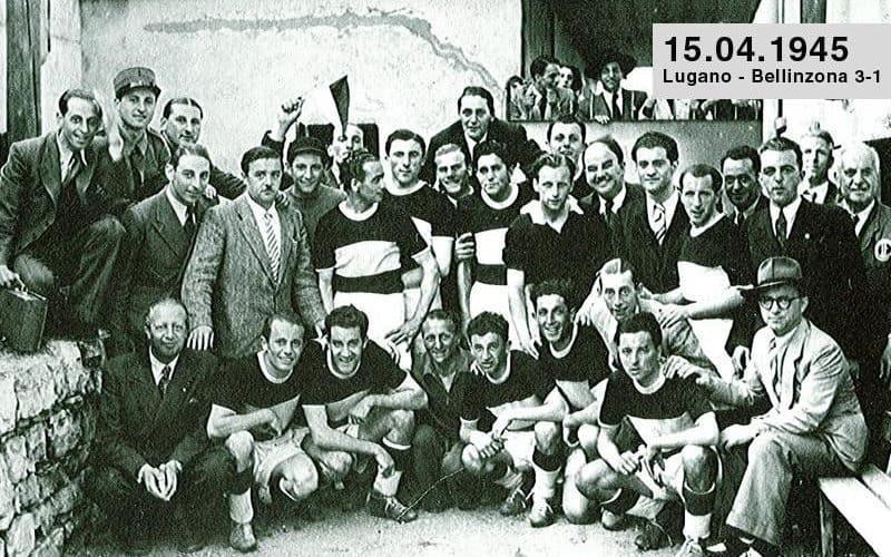 15 Aprile 1945 Lugano - Bellinzona
