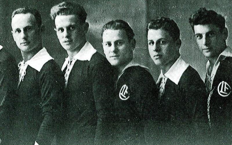 1916 nuove maglie bianconere
