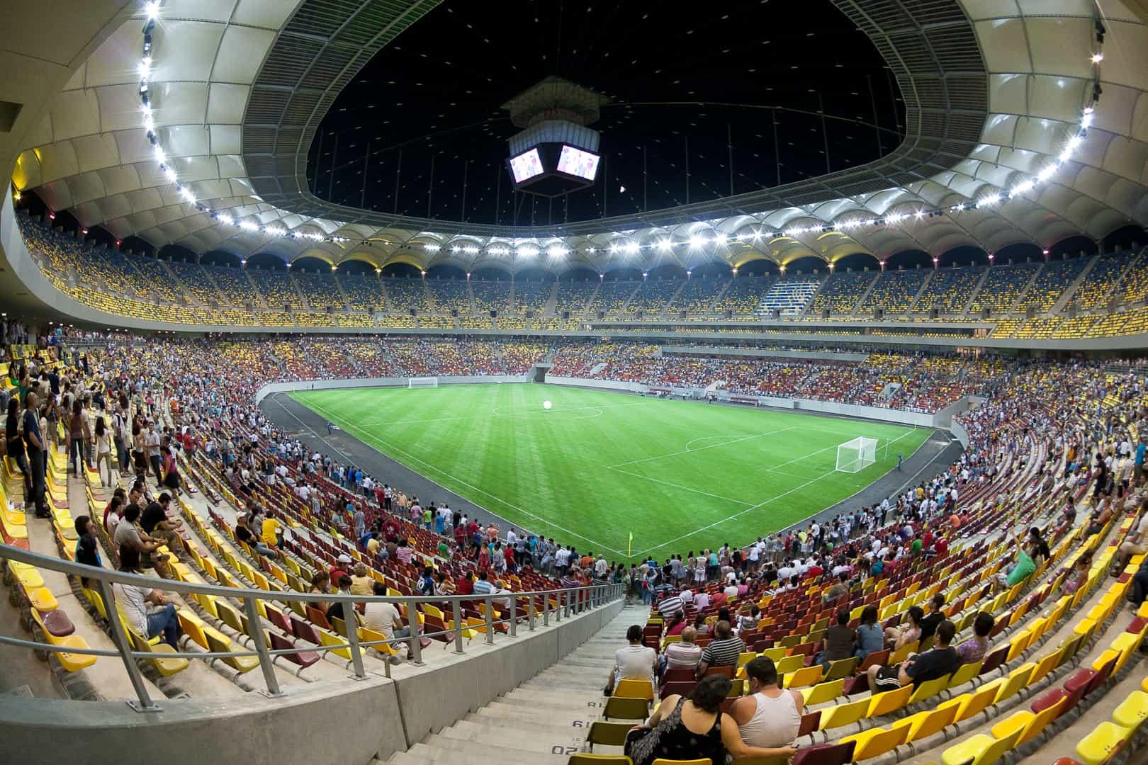L'Arena Nazionale di Bucarest