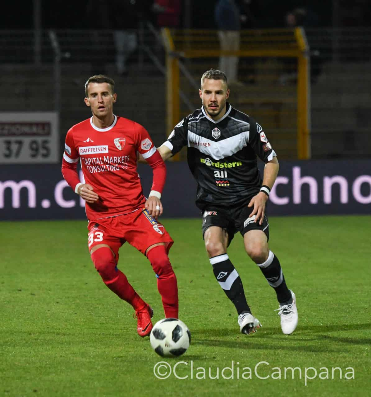 Due bianconeri nel Top Team del Blick