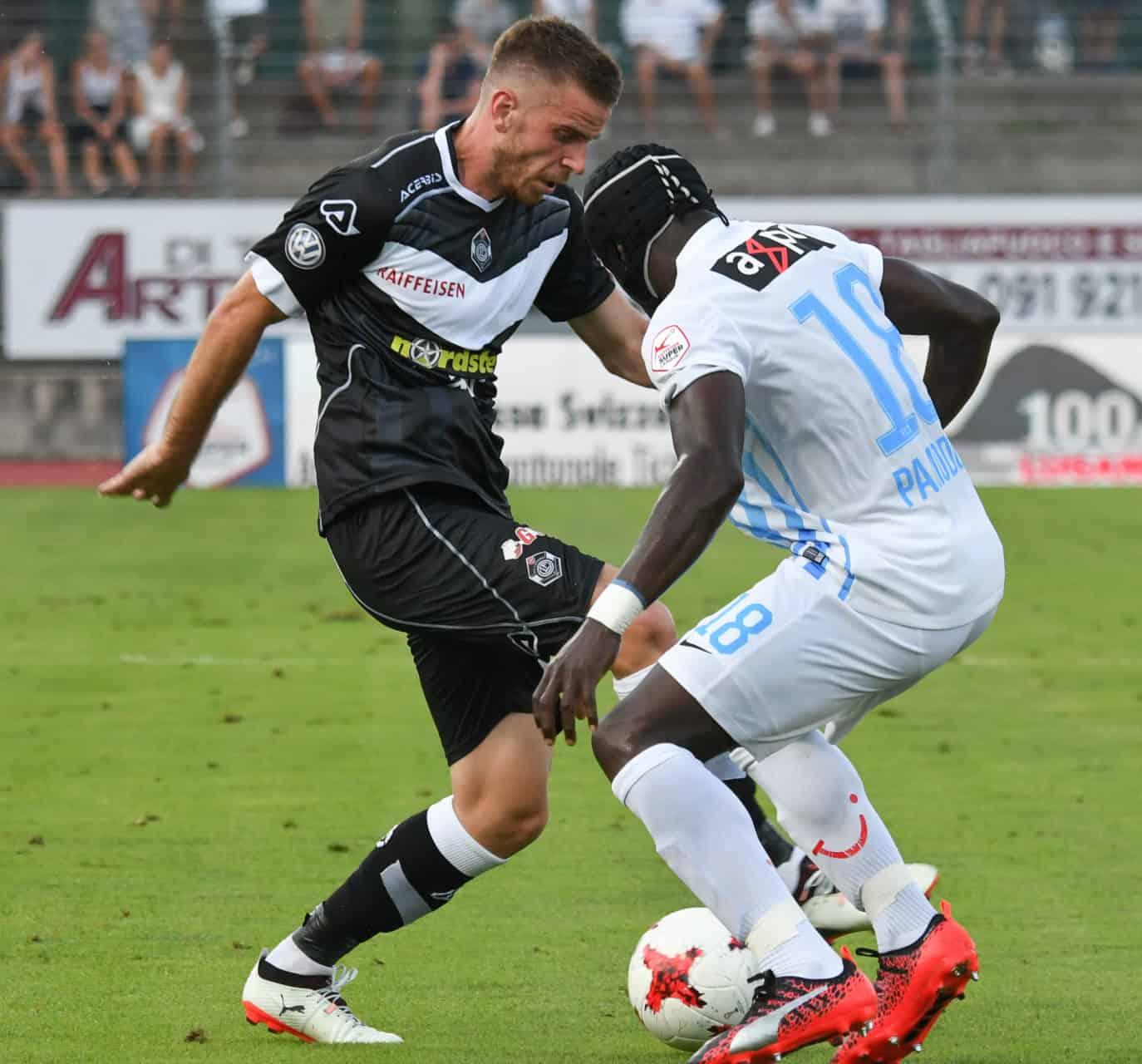 Zurigo-Lugano: risultato finale 3-0
