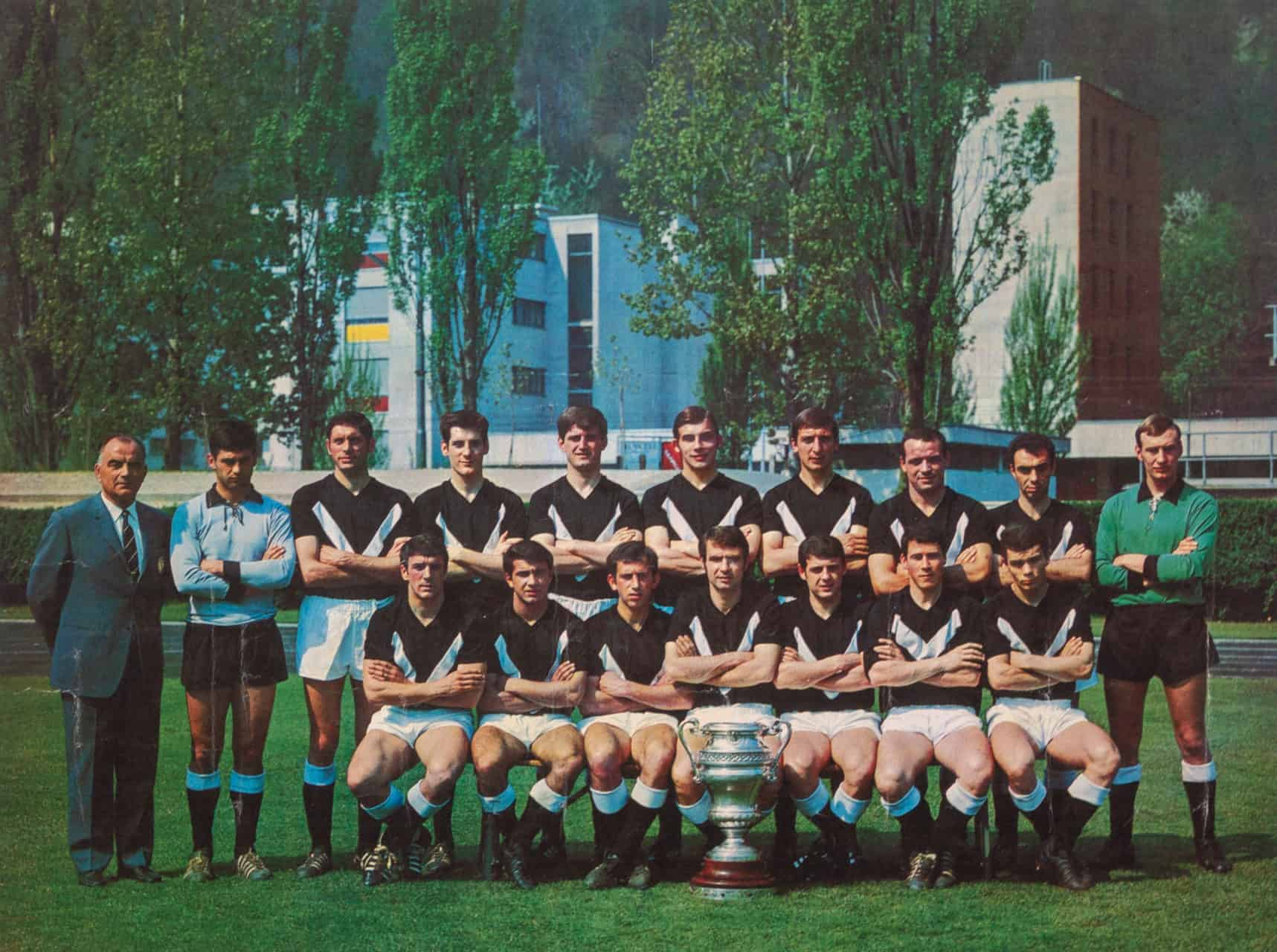 Squadra Coppa Svizzera FC Lugano 1968