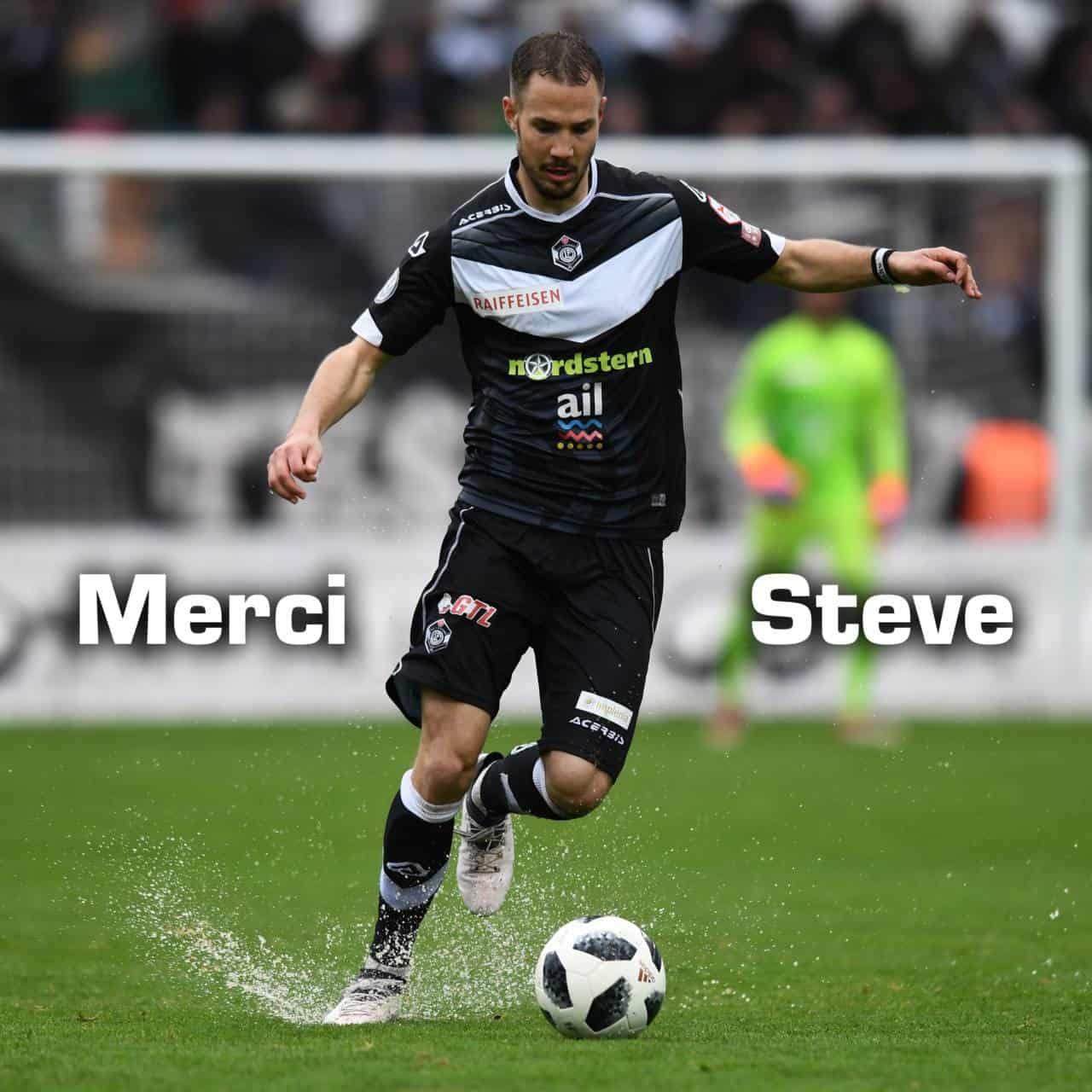 Steve Rouiller lascia il Lugano