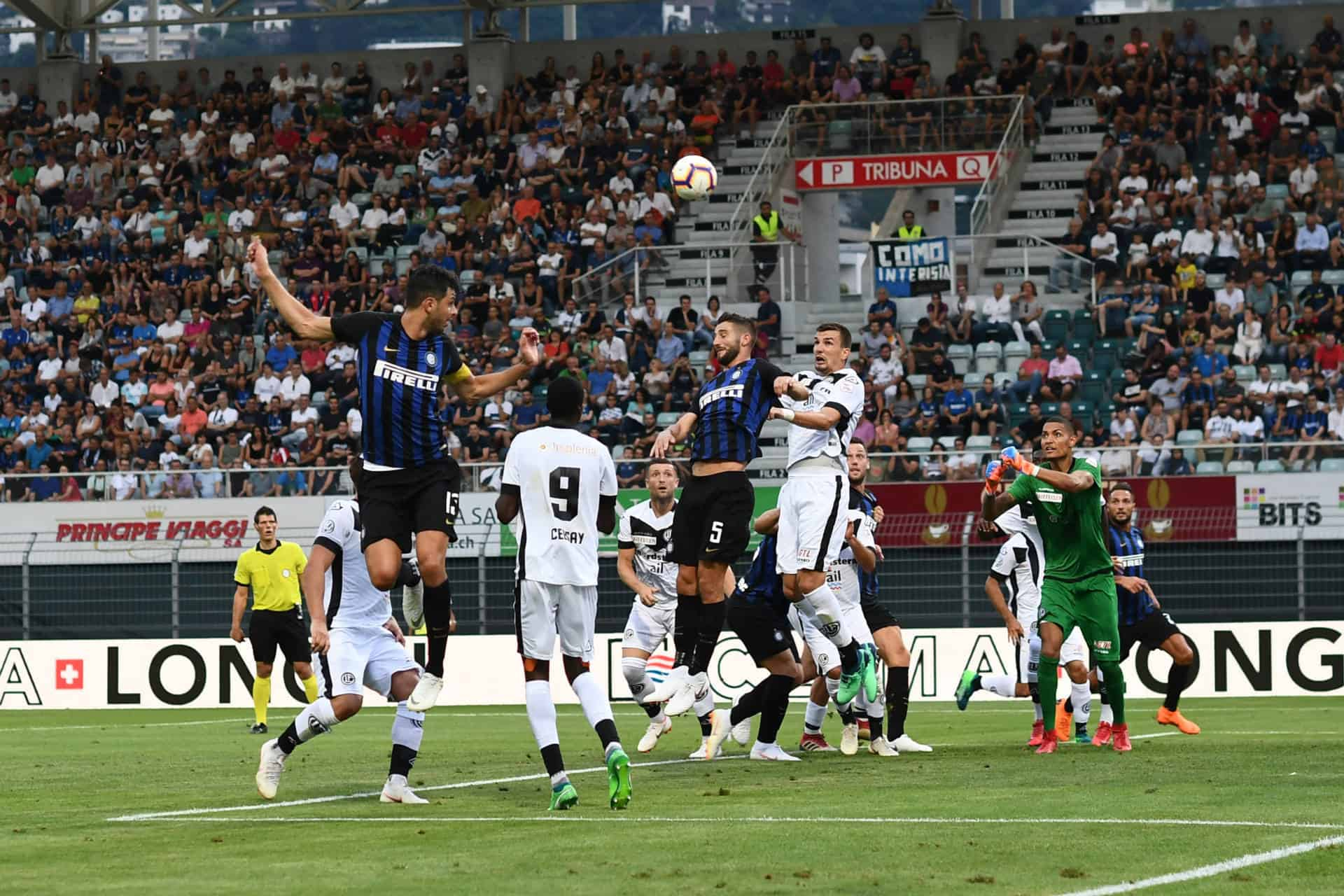Summer Cup: Lugano-Inter 0-3
