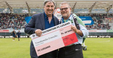 30000 franchi dal Club Sostenitori