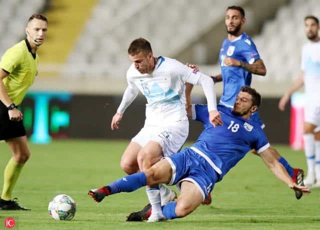 Crnigoj due volte titolare con la Slovenia