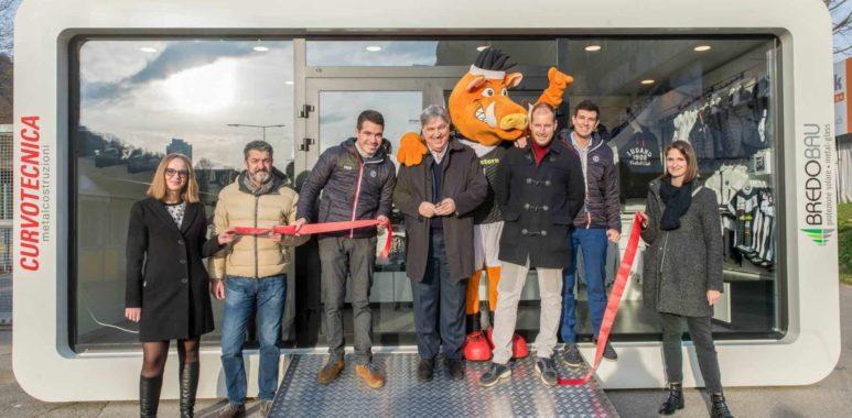 Aperto il nuovo Official Store dell'FC Lugano