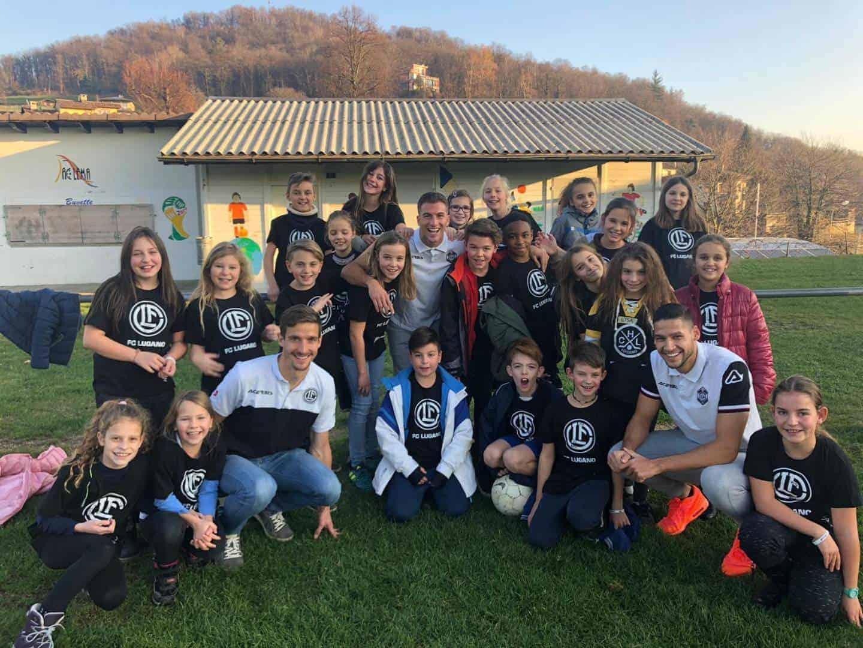 I nostri giocatori in visita a Novaggio! 1