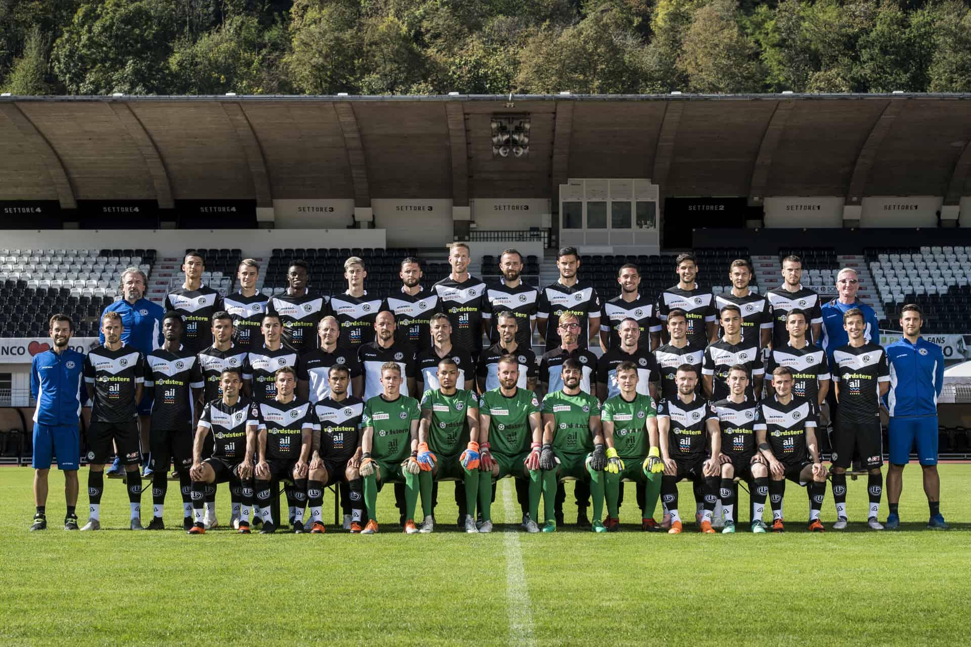 Squadra 2018-19 FC Lugano