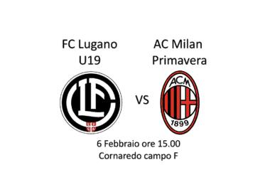 AC Milan Primavera in amichevole oggi contro il Team 19
