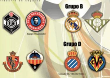 Team 12 FC Lugano in Spagna con i migliori Club della Liga.