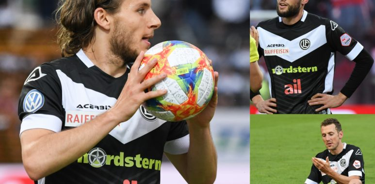 Lavanchy Daprelà e Gerndt nel Top Team