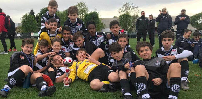 Team 13 al torneo Amour Cup contro Juventus, Monza, Novara