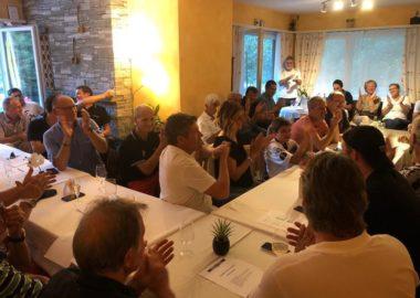 Bella serata del Fans Club Locarno e Valle Maggia