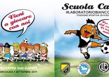 Scuola Calcio #LABORATORIOBIANCONERO - Pronti per una nuova stagione!!!