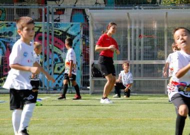 Il progetto acrobatica al mercoledì della scuola calcio