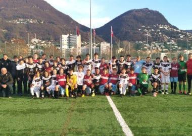 """Amichevole degli under 14, Tra FC Lugano e AC Bellinzona. """"Scambiamo le maglie"""""""