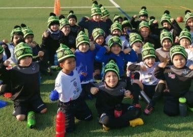 La scuola calcio città di Lugano si colora di verde grazie a Greenhope!
