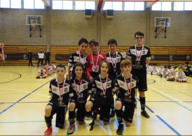 Futsal show al Winter Champions Trophy: i due team U11 al secondo e quarto posto