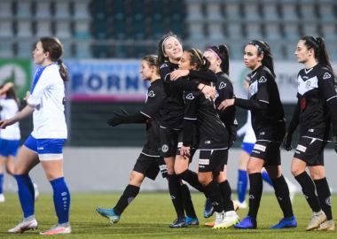 Segnali di crescita dell'Fc Lugano Femminile, ma a Cornaredo passa il San Gallo-Staad 1-3