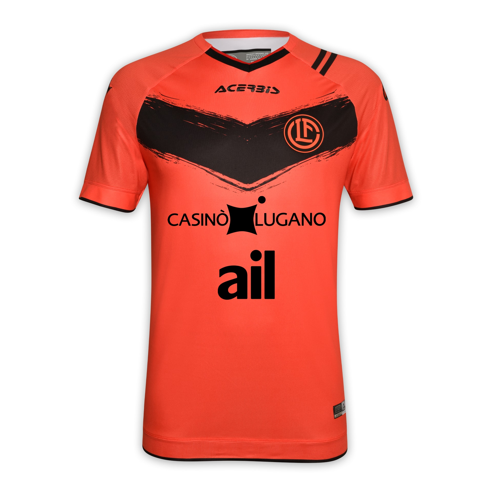 FC Lugano Third Jersey 2020-21